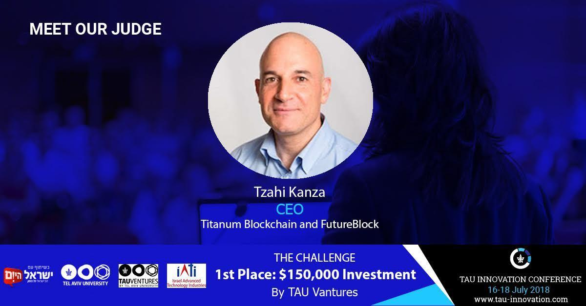 Tzahi Kanze - team member photo - Titanium Blockchain